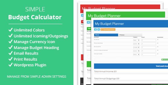 Monkey Budget Planner